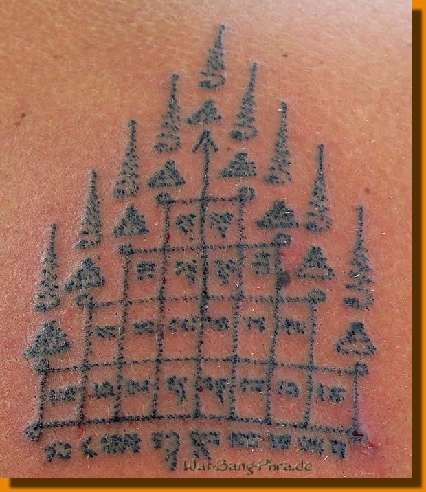 Sak Yant Tattoo Gao Yord